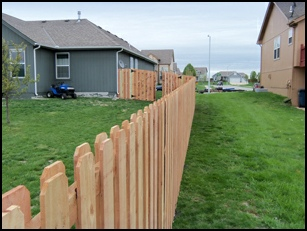 Shadow box fence royal fence and design wood fence styles 6 cedar shadow box with plain post workwithnaturefo